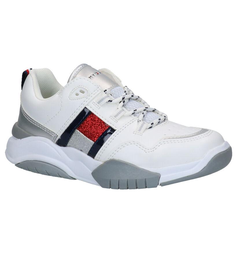 Tommy Hilfiger Baskets basses en Blanc en simili cuir (257365)
