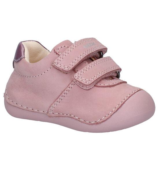 Geox Tutim Chaussures bébé en Rose