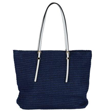 Dolce C. Sacs de plage en Bleu foncé en textile (223311)