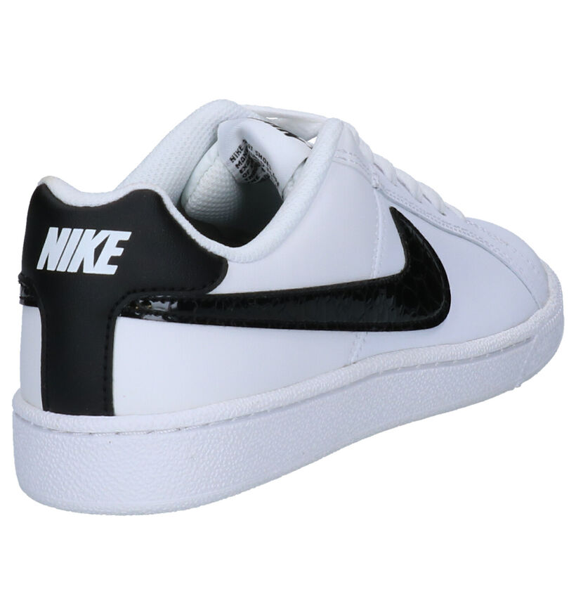 Nike Court Royale Witte Sneakers in kunstleer (261699)