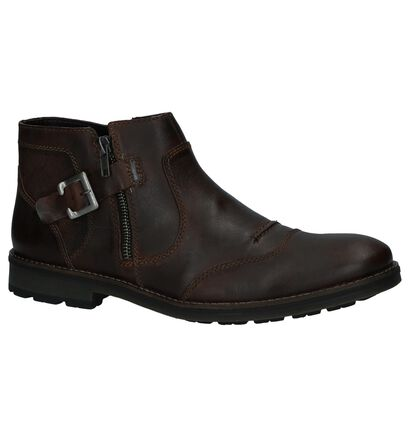Donkerbruine Geklede Boots Rieker, Bruin, pdp