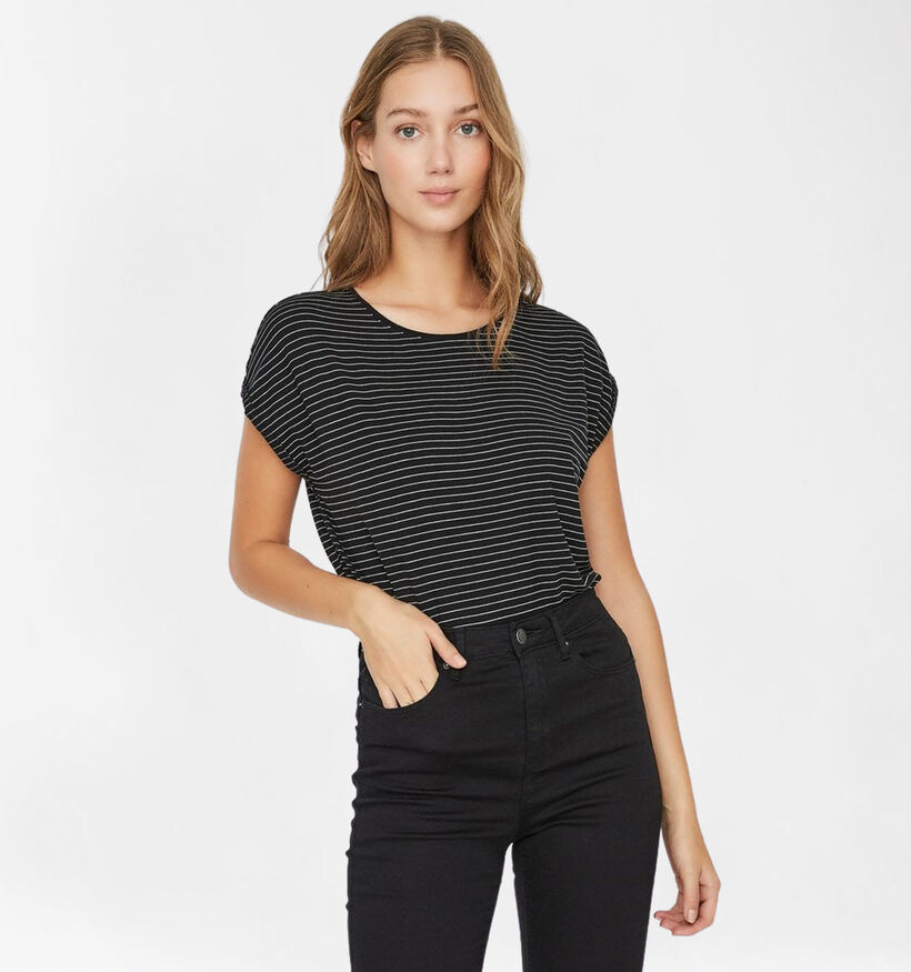 Vero Moda Mava Zwarte T-shirt (285895)