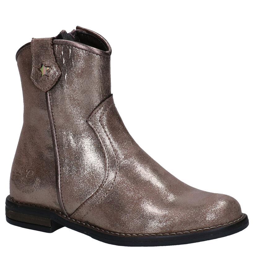 Little David Zekoia Bronzen Boots in kunstleer (282863)