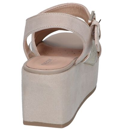 Taupe Sandalen Geox Zerfie , Taupe, pdp