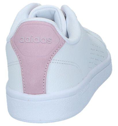 adidas Advantage Clean Baskets basses en Blanc en cuir (236758)
