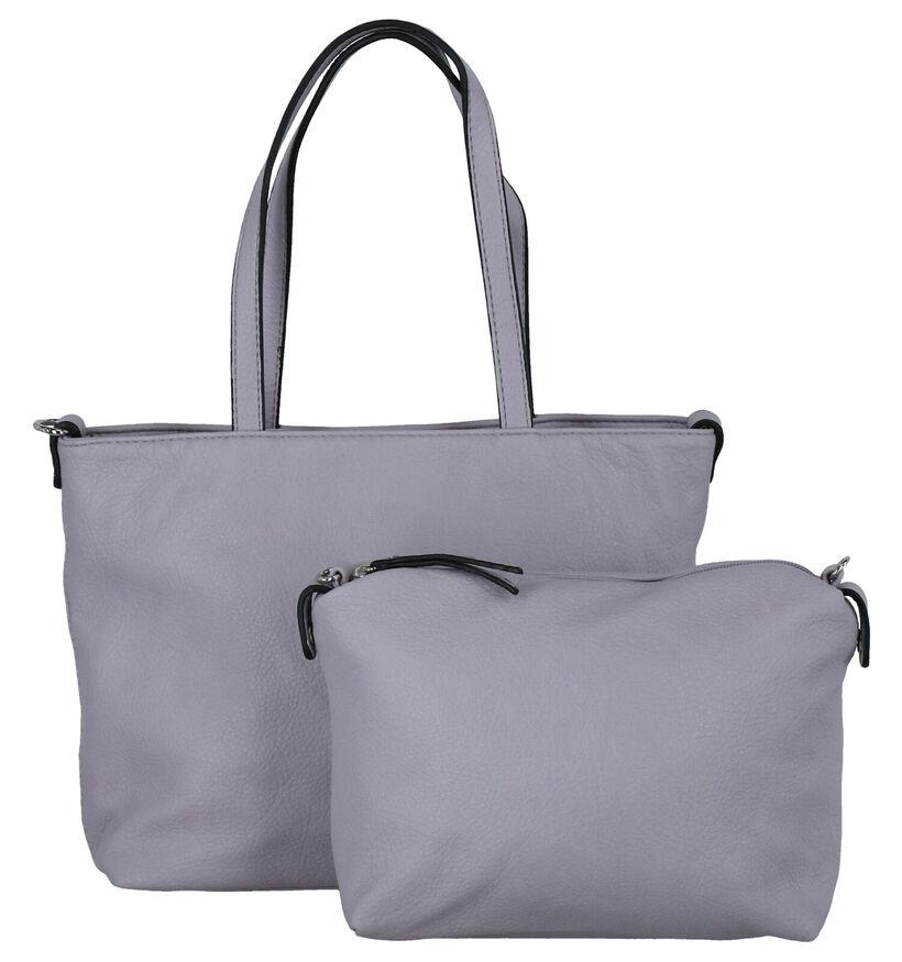 Emily & Noah Sac à main bag in bag en Brun en simili cuir (282165)