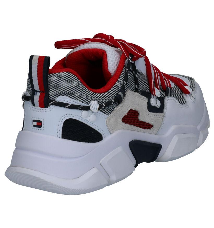 Tommy Hilfiger City Voyager Chunky Sneakers en Blanc en simili cuir (264959)