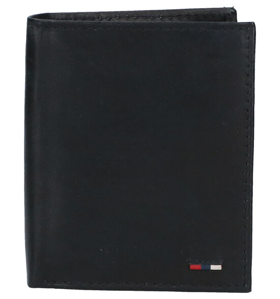 Euro-Leather Zwarte Portefeuille