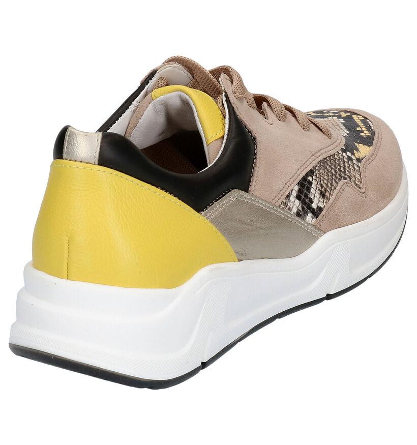 Gabor OptiFit Chaussures à lacets en Blanc en cuir (271686)