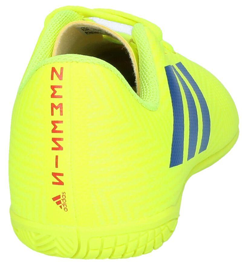 adidas Nemeziz Chaussures de foot en Fluo en simili cuir (237169)