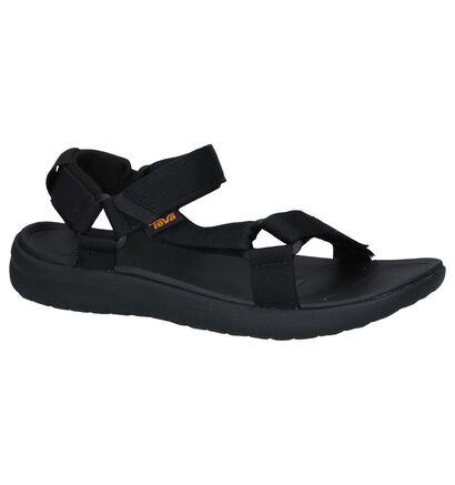 Zwarte Sandalen Teva Sanborn in stof (242700)