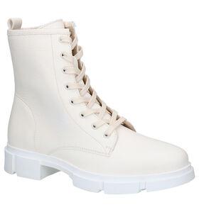 Tango Romy Ecru Boots in leer (298505)