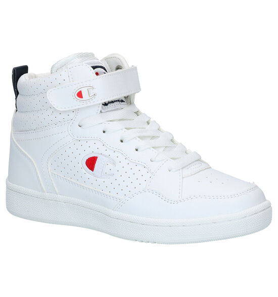 Champion Palm Lake Mid Jr Witte Sneakers