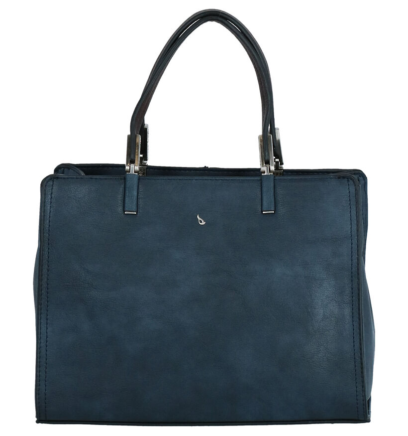Abbacino Langarita Sac à Main en Bleu en simili cuir (262532)