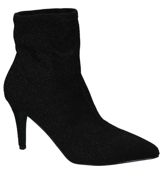 Youh! Zwarte Korte Laarzen High Heels