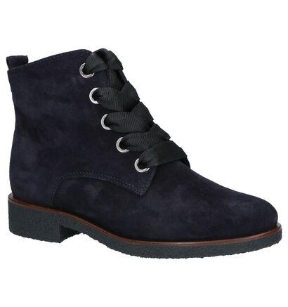 Gabor Comfort Bottines en Bleu en daim (260232)
