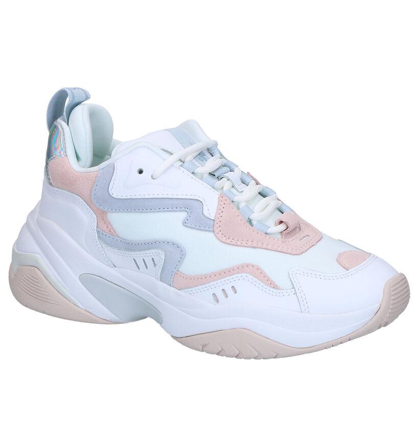 Tamaris Fashletics Witte Sneakers in kunstleer (269731)
