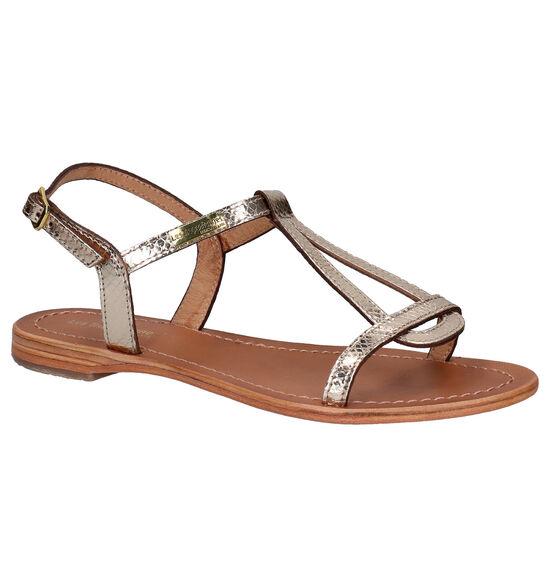 Les Tropeziennes Hamat Gouden Sandalen