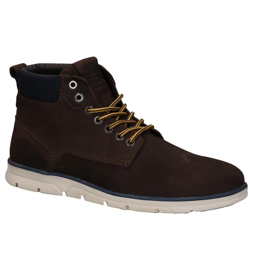 Jack & Jones Tubar Nubuck Chaussures Hautes en Brun en nubuck (278342)