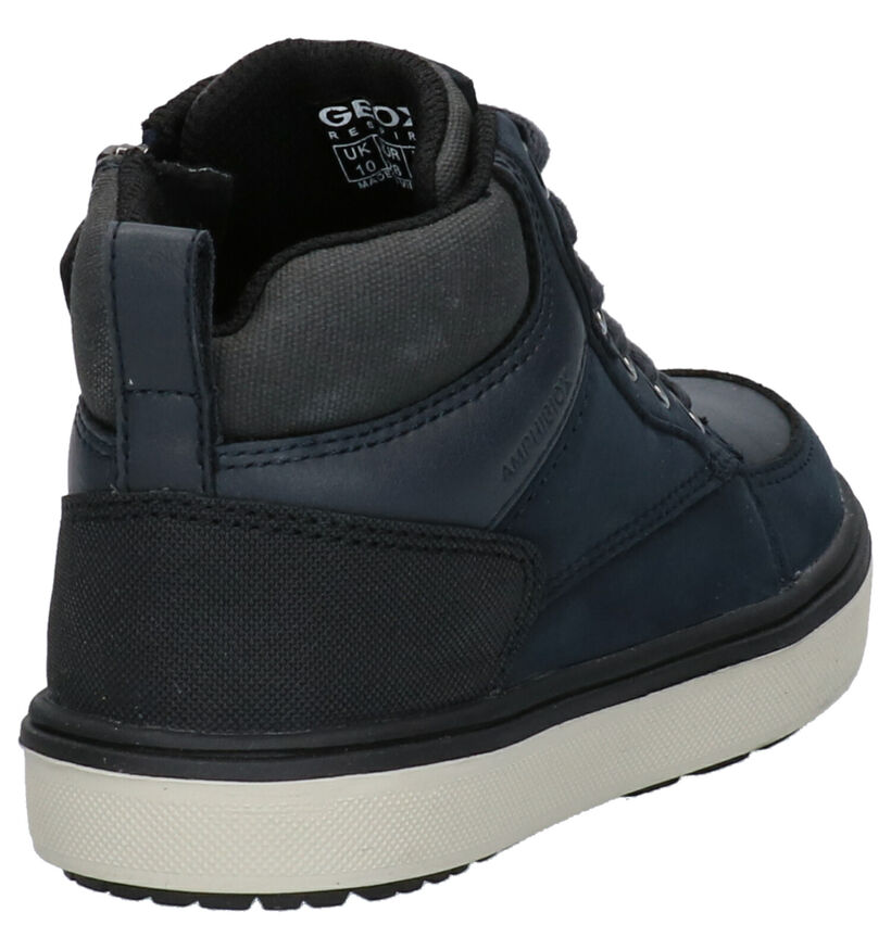 Geox Blauwe Sneakers in daim (273272)