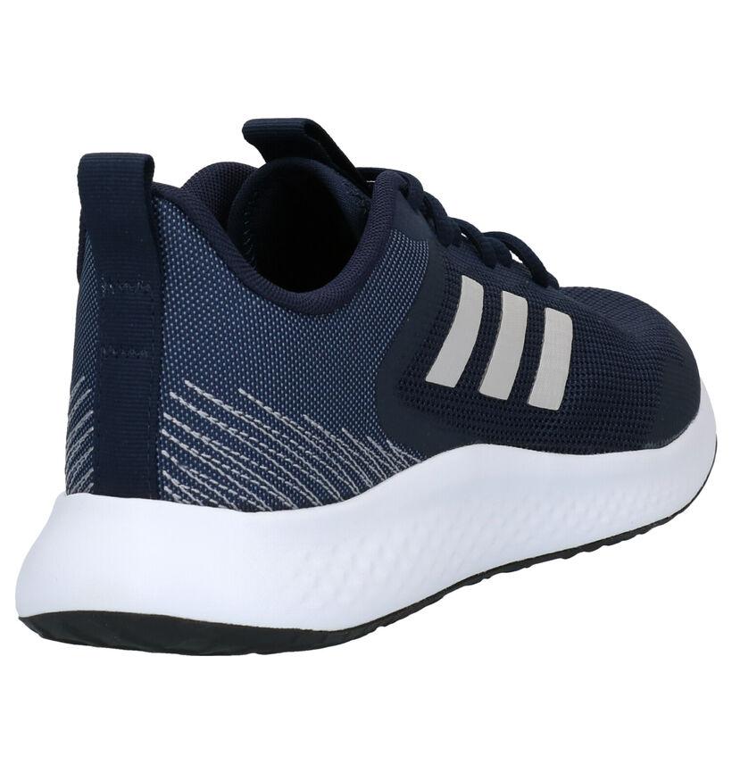 adidas Fluidstreet Blauwe Sneakers in kunststof (276432)
