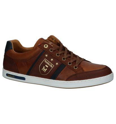 Pantofola d'Oro Mondovi Low Chaussures Basses en Noir, Cognac, pdp
