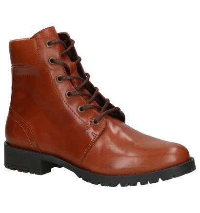 River Woods Simona Zwarte Boots in leer (260305)