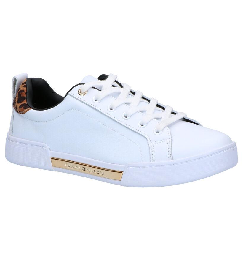 Tommy Hilfiger Chaussures à lacets en Blanc en cuir (276772)