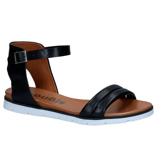 Signatur Zwarte Sandalen