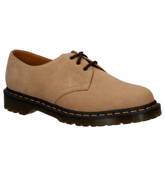 Dr. Martens 1461 Chaussures à lacets en Beige