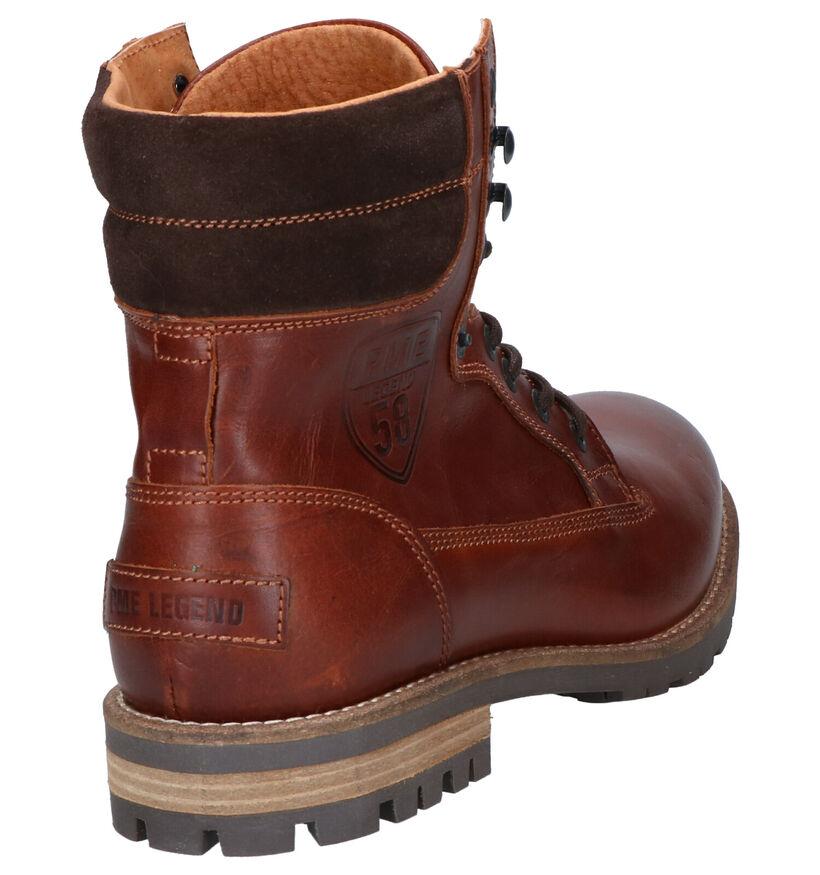 PME Legend Crusader Bruine Boots in leer (254774)