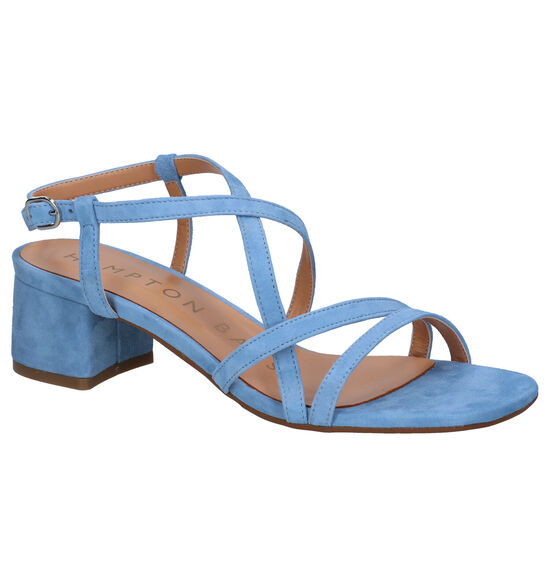 Hampton Bays Sandales à talons en Bleu clair