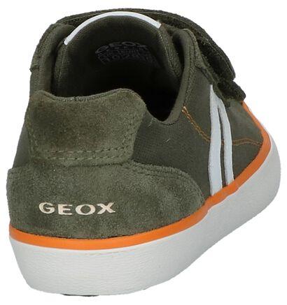 Geox Chaussures basses en Bleu foncé en nubuck (265788)