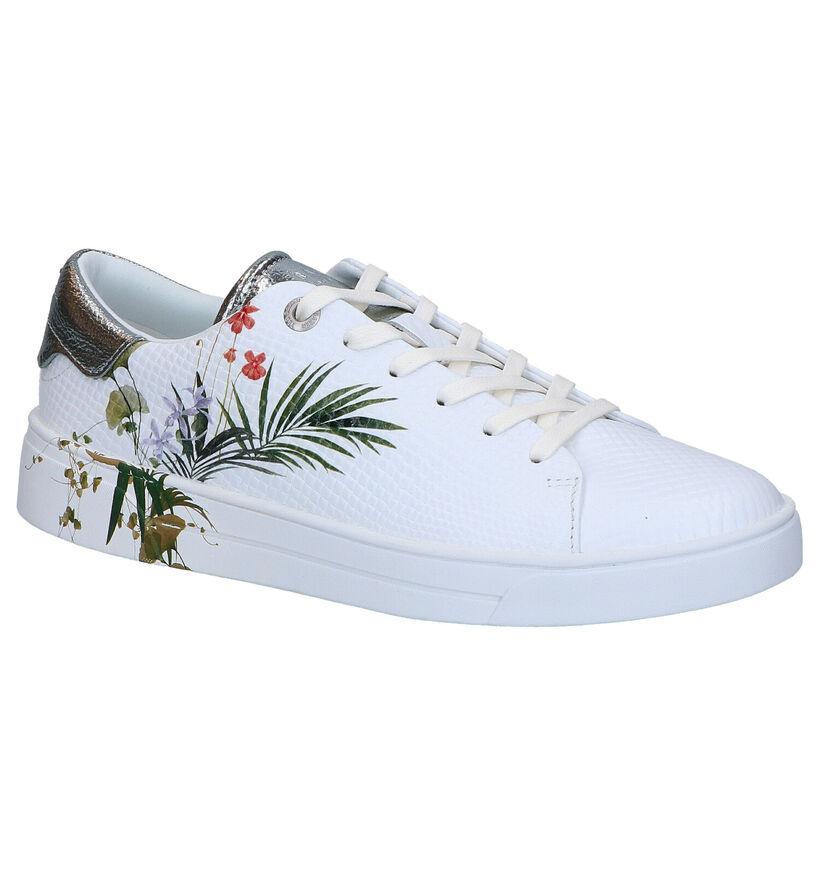 Ted Baker Penil Witte Sneakers in kunstleer (265001)