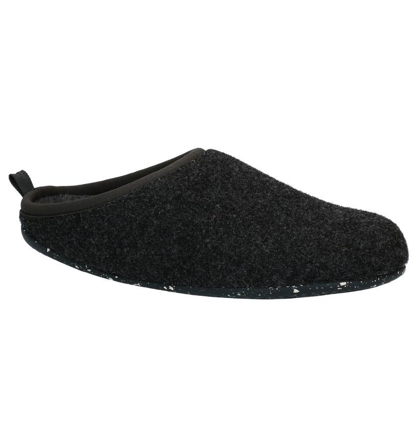Camper Grijze Pantoffels in stof (282121)