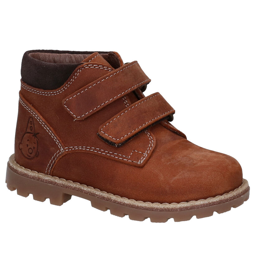 Bumba Cognac Bottines in nubuck (283014)
