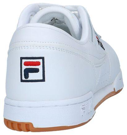 Fila Original Fitness Baskets basses en Blanc en simili cuir (223575)