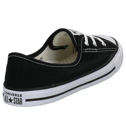 Converse Chuck Taylor AS Baskets slip-on en Noir en textile (266494)