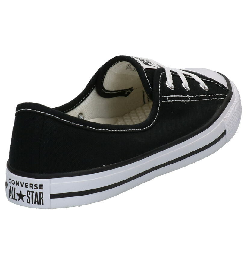 Converse Chuck Taylor AS Zwarte Slip-on Sneakers in stof (266494)