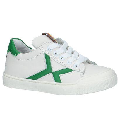 Poldino Chaussures basses en Blanc en cuir (209242)