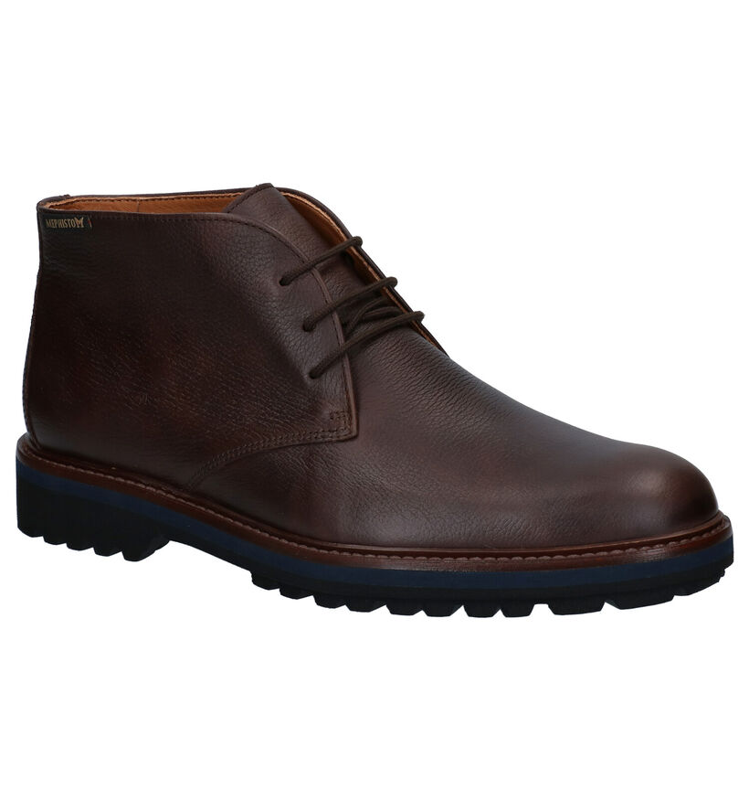 Mephisto Berto Nevada Chaussures Habillées en Brun en cuir (281015)