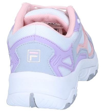 Fila Select Low Zwarte Sneakers in kunstleer (240891)