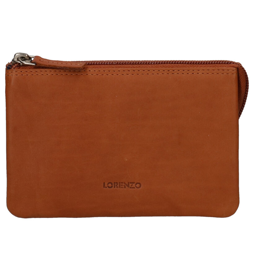 Euro-Leather Cognac Ritsportefeuille in leer (275655)