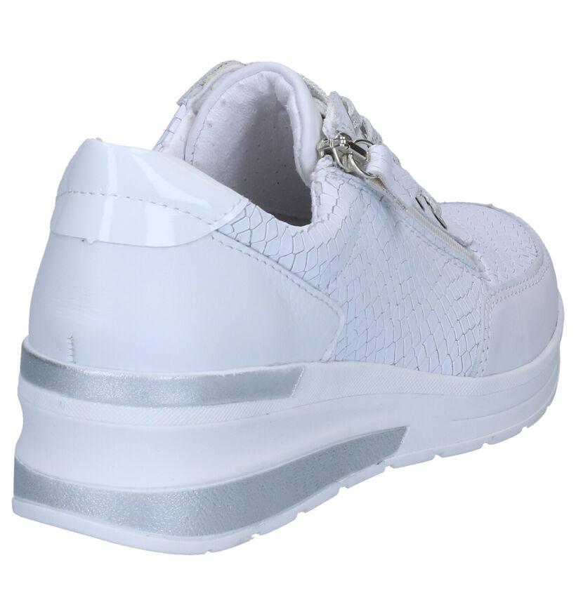 Mirel Witte Sneakers in leer (269379)