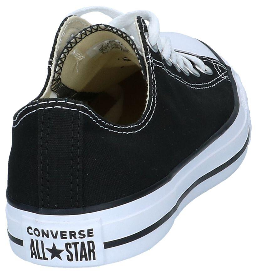 Chuck Taylor All Star Baskets basses en Noir en textile (238383)