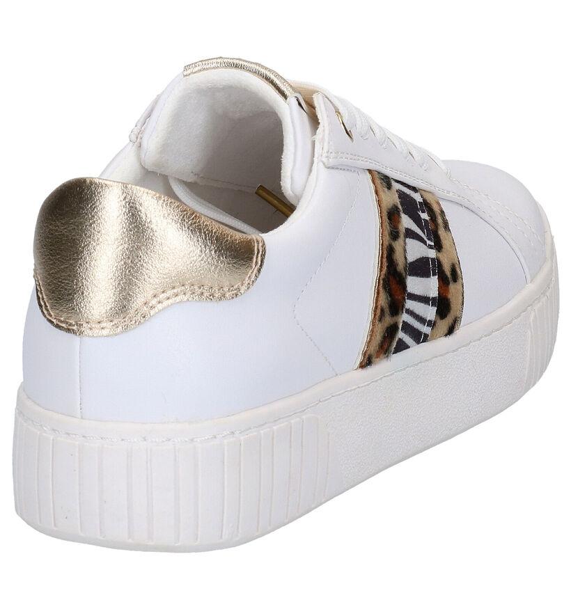 Marco Tozzi Witte Sneakers in kunstleer (265850)