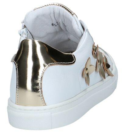 Hampton Bays Baskets basses en Blanc en cuir (213233)