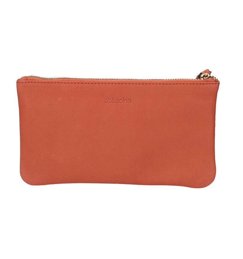 Abbacino Étuies en Orange en cuir (274325)