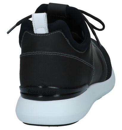 Donkergrijze Slip-on Sneakers NeroGiardini in leer (250212)