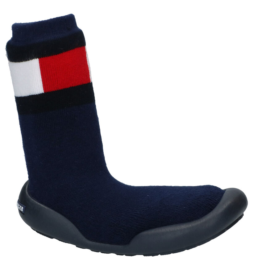 Tommy Hilfiger Blauwe Pantoffels in stof (279890)